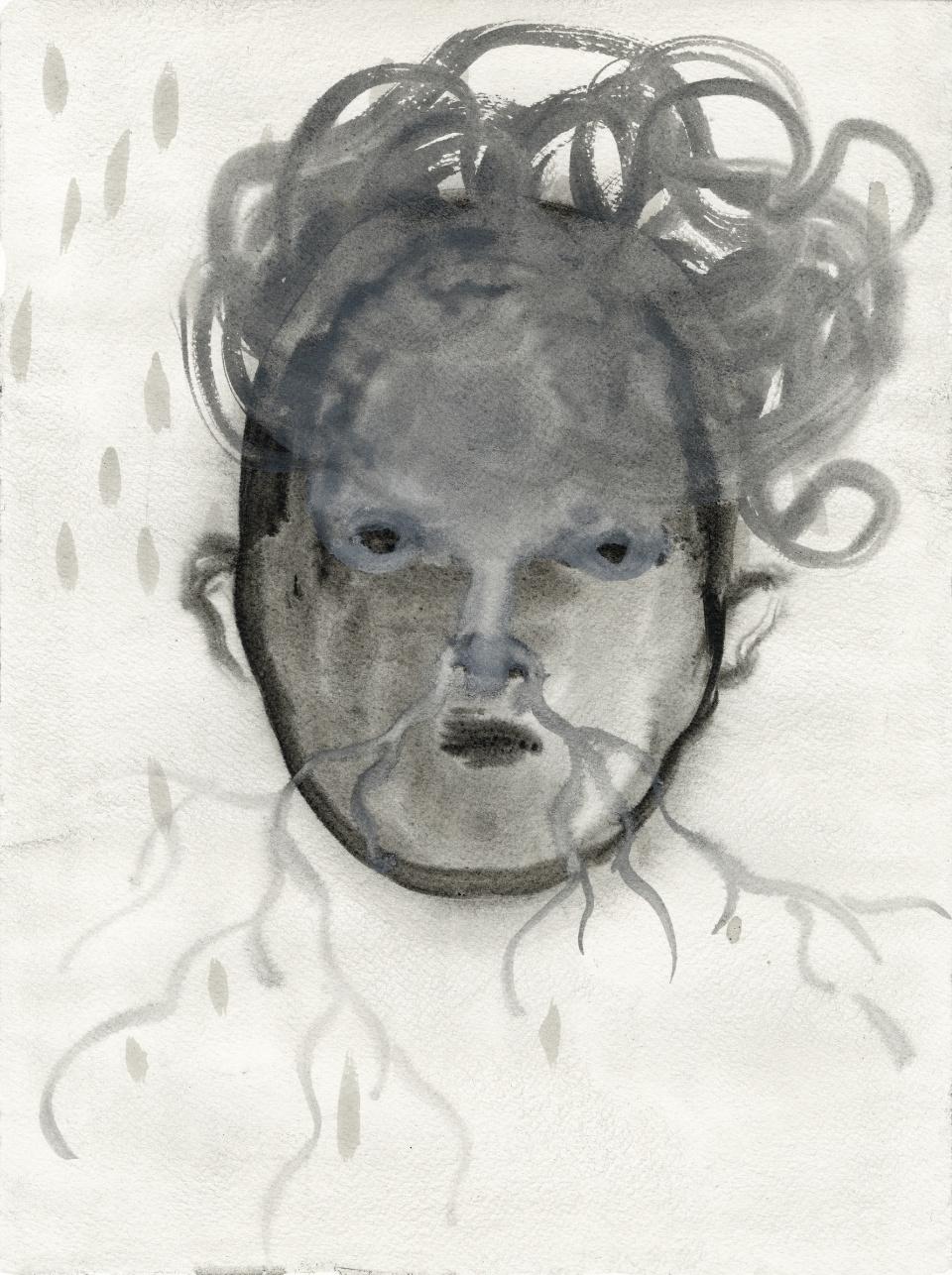 Alice Musiol - Gesicht Nasenwurzeln - 2011