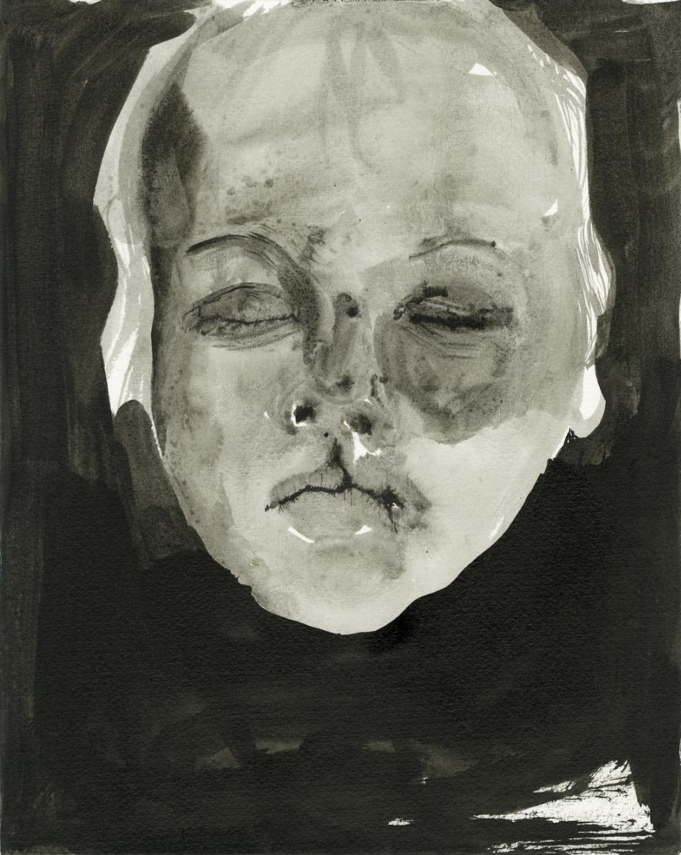 Alice Musiol - Kopf Eines Jungen Mit Geschlossenen Augen - 2009