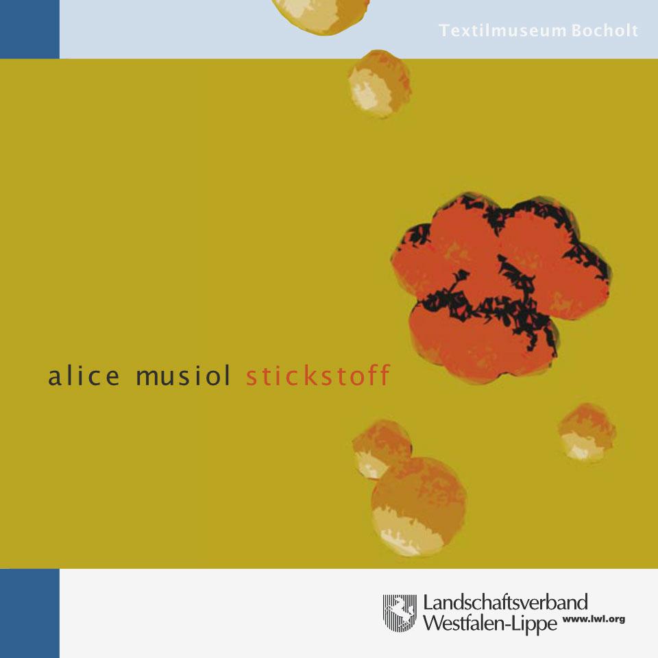 Alice Musiol - Katalog Stickstoff